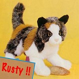 Stuffed Plush Calico Cat from Stuffed Ark