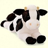 Stuffed Plush Cow from Stuffed Ark
