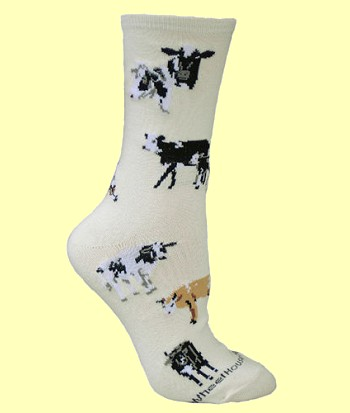Cow Socks from Critter Socks