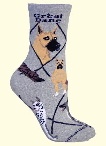 Great Dane Socks from Critter Socks