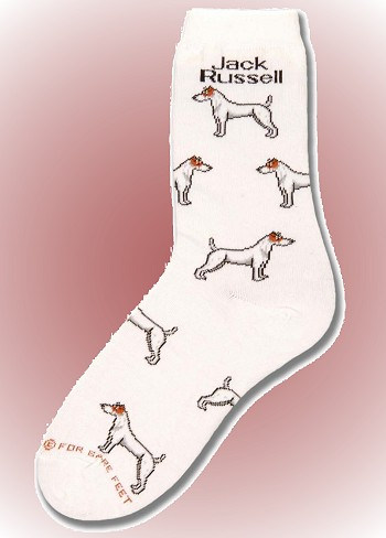 Jack Russell Socks from Critter Socks
