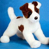 Stuffed Plush Jack Russell