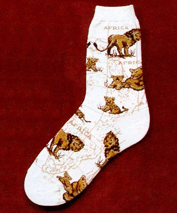 Lion Socks from Critter Socks