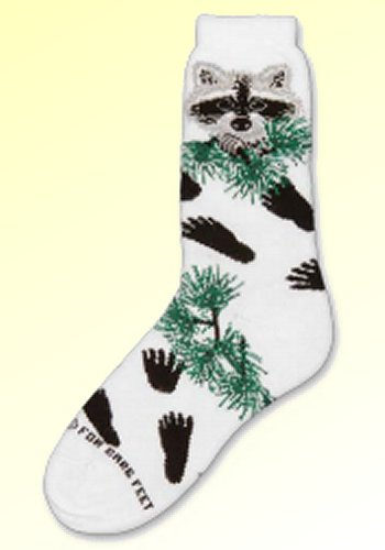 Raccoon Socks from Critter Socks