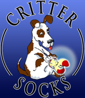 Jack Russell Slipper Socks from Critter Socks